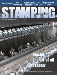 Cover of STAMPING Journal magazine