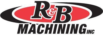 R & B Machining logo