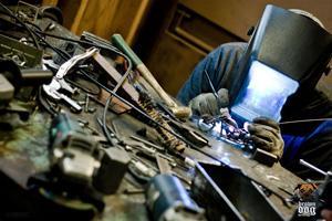 brown-dog-welding