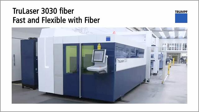 Trumpf Trulaser 3030 Fiber Fast And Flexible The Fabricator